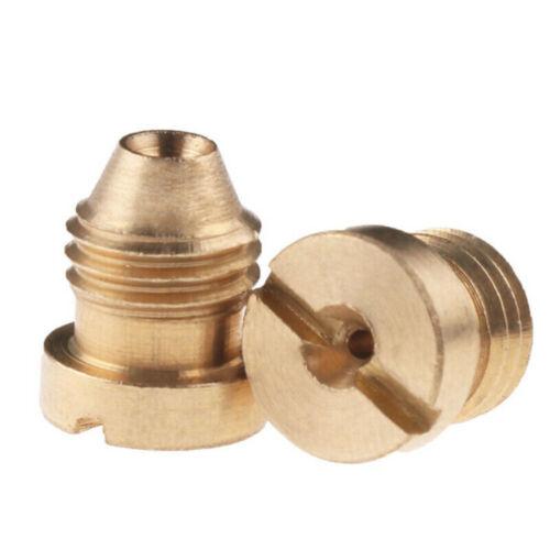 1.1mm Gold Foam Cannon Orifice Nozzle Tips Thread Nozzle For Snow Foam Lance JT