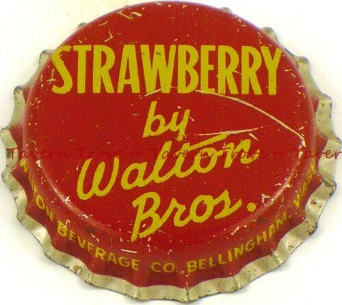 1940s WASHINGTON Bellingham WALTON BROS STRAWBERRY SODA Crown Tavern Trove