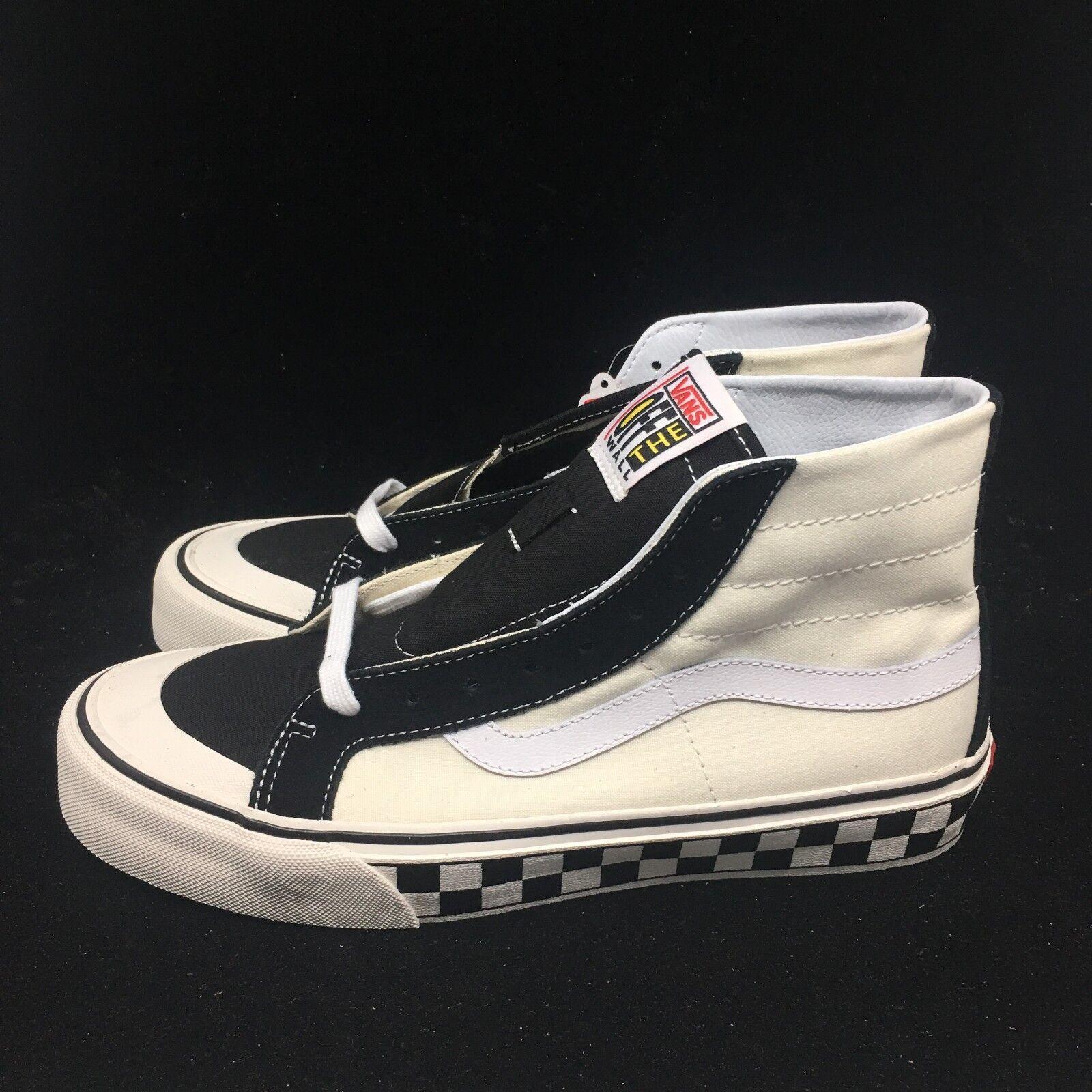 Vans SK8-HI 138SF Checker Black White Unisex Men's Women's shoes VN0A3MV1R34