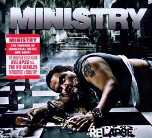 MINISTRY-RELAPSE-Limited-Edition-Digipack-New-Sealed-CD-Metal-Inc-Double-Tap