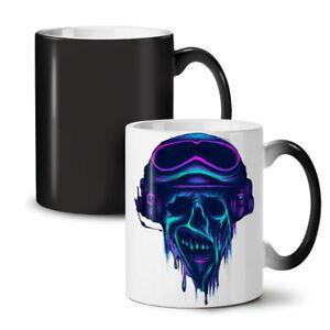 Metal Rock Skull Biker NEW Colour Changing Tea Coffee Mug 11 oz   Wellcoda