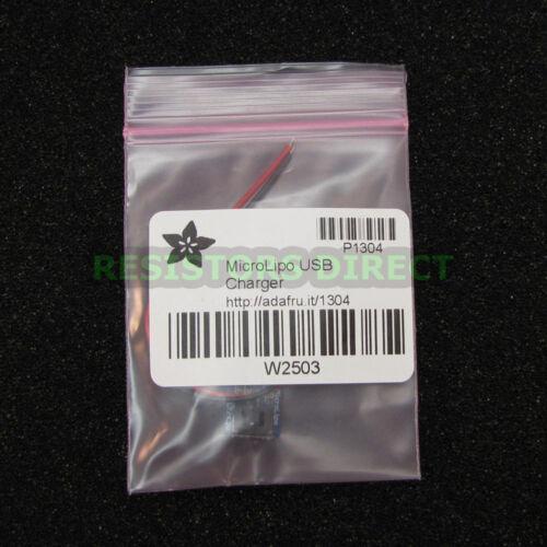 Adafruit Micro Lipo USB Battery Charger Board Lithium Ion LiIon LiPoly Mini G23