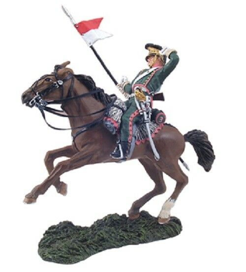 William Britain Napoleonic French 3rd Lancer Trooper Falling Wounded 36059