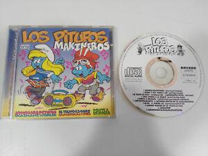 LOS-PITUFOS-MAKINEROS-CD-ARCADE-1995-SOMOS-LOS-PITUFOS