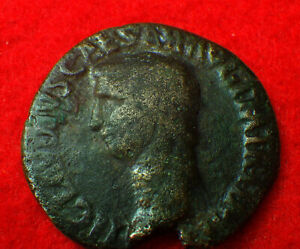 CLAUDIUS-49-AD-034-A-Wise-Man-is-SHEEP-039-S-CLOTHES-034-ROMAN-COIN-Collections