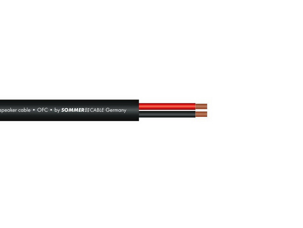Sommer Cable Cavo altoparlanti 2x2,5 100m SW FRNC