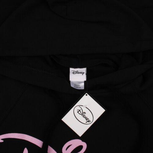 Size S,M,L,XL Disney Hoodie Ladies Black Logo