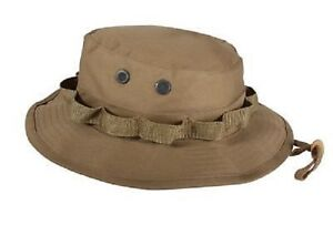 Us Military Army Style Patrol Safari Hat Cap Casquette Chapeau Coyote Medium-afficher Le Titre D'origine
