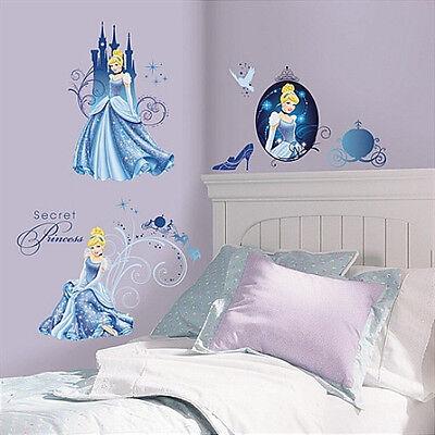 CINDERELLA Disney Princess Decal Removable WALL STICKER Home Decor Art No.002