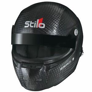 Stilo-ST5-GTN-Zero-Carbon-FIA-8860-2010-Crash-Helmet-Lid-Medium-57-59cm