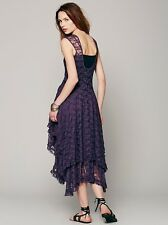 New FREE PEOPLE French Courtship Slip Dress Size Small- Purple