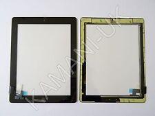 Per iPad 2 Touch Screen Digitalizzatore Vetro Sostituzione nero con tasto home colla