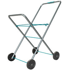 Laundry Trolley Hills® Premium Swift Foldable Collapsible Clothes Washing Cart