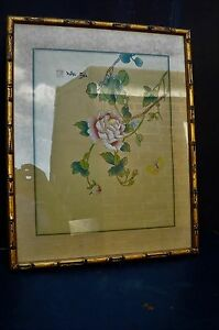 Chinese-framed-painting