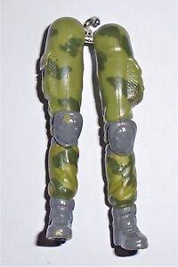 GI Joe Body Part  2005  Bombstrike        Leg Set         C8.5 Very Good