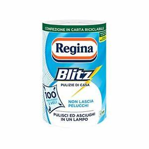 Regina Blitz Carta Casa Confezione da 1 rotolo 100 maxi fogli 3 veli Confezione