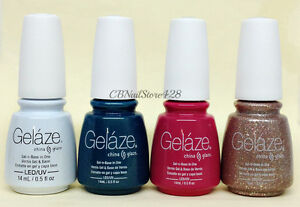 Gelaze by China Glaze - SPRING FLING 2017 Collection - Pick Color