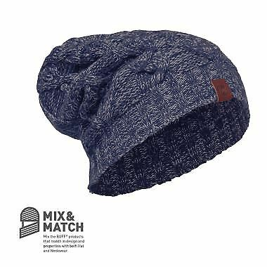 Merino Wool Hat Buff  Nuba Medieval Blau  Buff - Walking, Hiking, Trekking 963a6b