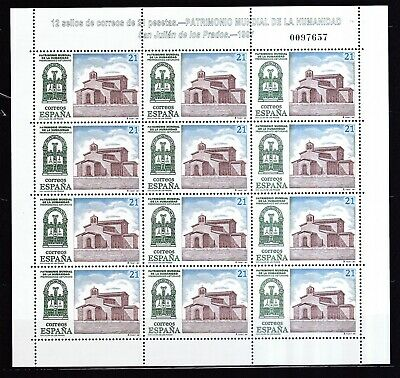 3350-3351 Duftendes Aroma Spanien 1997 Postfrisch Unesco-welterbe Minr Briefmarken Briefmarken