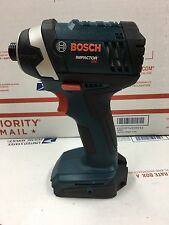 Bosch Cordless1 /4 Impact Ids181 Batteries And Charger