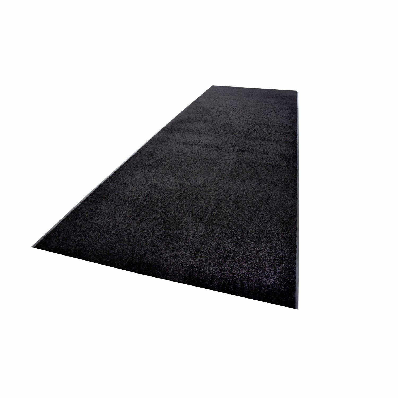 Zanzibar cattura sporco tappetino nero 90 x 1000 cm rossoOLI