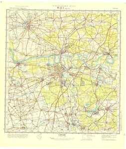 Russian Soviet Military Topographic Maps DESSAU Germany1100