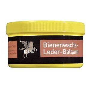 B-amp-E-Bienenwachs-Lederpflege-Balsam-250-ml-Wachs-Glattleder