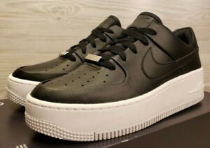 Details about Womens Nike Air Force 1 Sage Low Black White Fashion Sneaker AR5339 002 Size 7