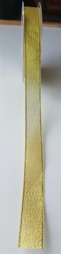 Gold /& Silver Decorative Lurex Ribbon by SR various sizes PREMIUM QUALITY