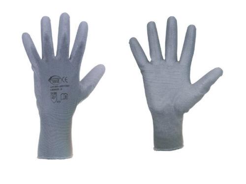 8 1 Paar Arbeitshandschuhe Montagehandschuhe Feinstrik Stronghand Shenzen Gr