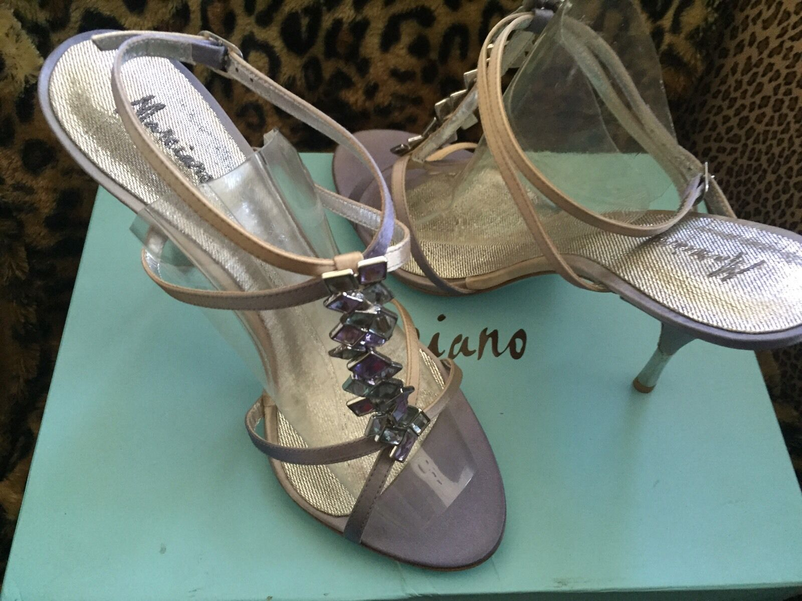 Nwt Marciano Satin shoes PMTRISH2 10