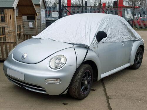 VW Volkswagen Beetle Convertible 2012 onwards Half Size Car Cover