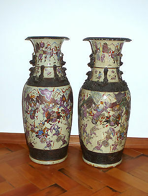 Audacious Two Bodenvasen Vase China Um 1940