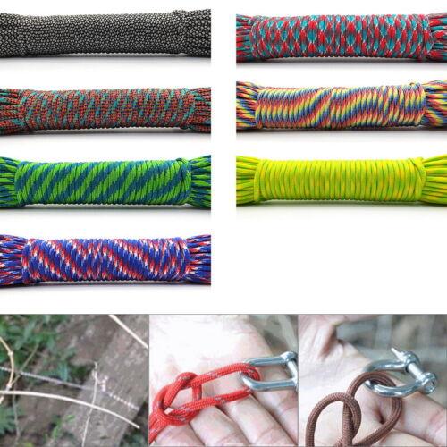 Paracord Survival Parachute Cord Lanyard Camping Camping Rope Hiking Clothesline