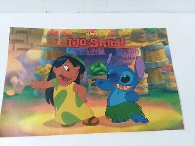 Disney Lilo And Stitch 2002 Cast Newsletter Ebay