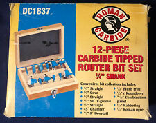 1-5//16-Inch Roman Carbide DC1857 Forstner Bit