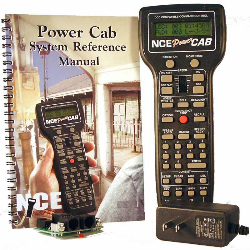 NCE 524 - 025 cabina de conducción dinámica equipada con con con un sistema de activación de 2 ampedcc NCE 25 110   240v n - ho 2f9