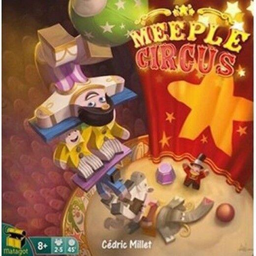 Meeple Meeple Meeple Zirkus Spiel durch Tabelle Neu by Ghenos Italiano 6b07af