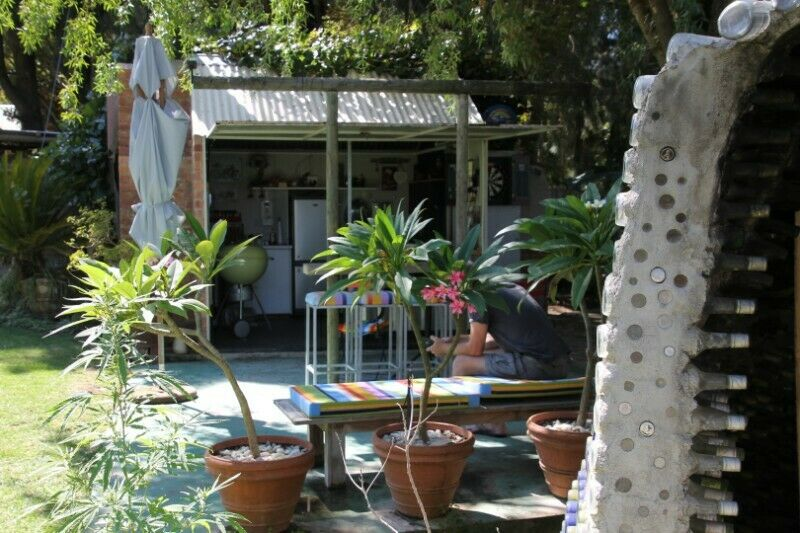 Think out the box - Container living and a whole lot more, in a luscious private garden- RXVP-0478