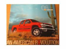 2006 Chevrolet COLORADO pickup truck color dealer-issue factory sales catalog 06