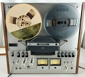 Vintage-Sony-TC-458-Reel-To-Reel-Tape-Deck-For-Parts