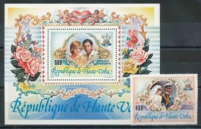 250025) Obervolta Nr.902+block 68** Hochzeit Lady Diana Bequem Zu Kochen
