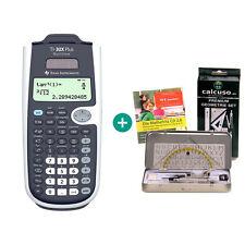 TI 30 X Plus MultiView Taschenrechner + GeometrieSet und MatheFritz Lern-CD