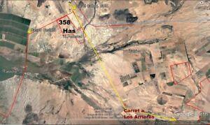 Terreno 358 Has frente carret 4 sur y Tastiota