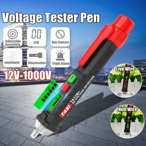 12-1200V-AC-DC-Non-Contact-LCD-Electric-Test-Pen-Voltage-Digital-Detector-Tester