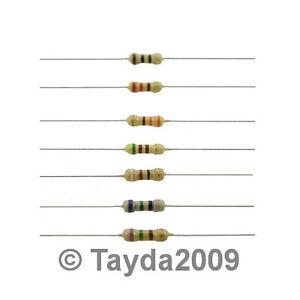 50-x-Resistors-1K-Ohms-OHM-1-4W-5-Carbon-Film