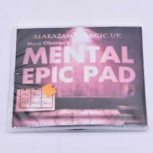 Mental-Epic-Pad-Gimmick-DVD-Magic-Tricks-Prediction-Close-Up-Props-Mentalism