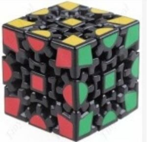 Gear-Cube-Speed-Rubik-039-s-Cube-Black