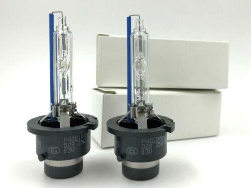 2x New HID Xenon Philips 6000K D2S OEM Headlight Bulb for 06-10 Porsche Cayman