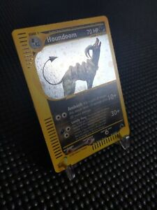 Houndoom-H11-H32-Skyridge-Set-HOLO-RARE-Pokemon-Card-NEAR-MINT